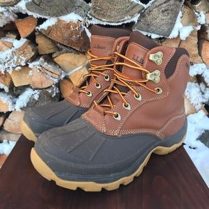 LL Bean Storm Chaser Duck Boots 8.5 Winter Ankle
